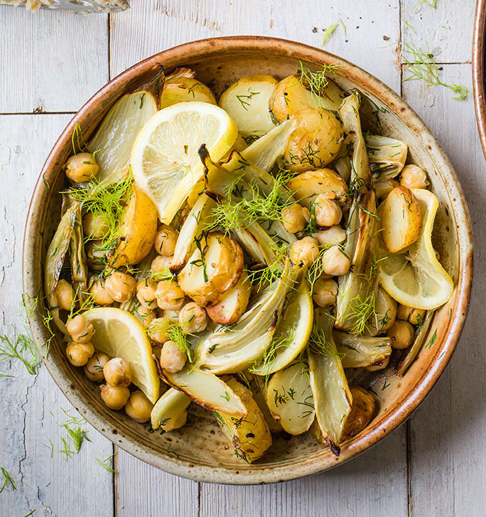 Photo of Roasted fennel, chickpeas &  potatoes by WW