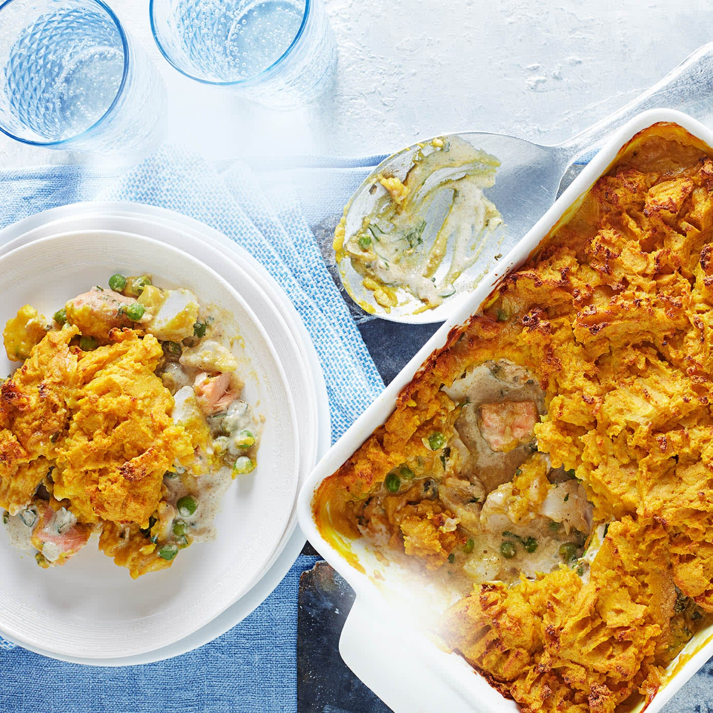 Photo of Indian-spiced fish pie by WW