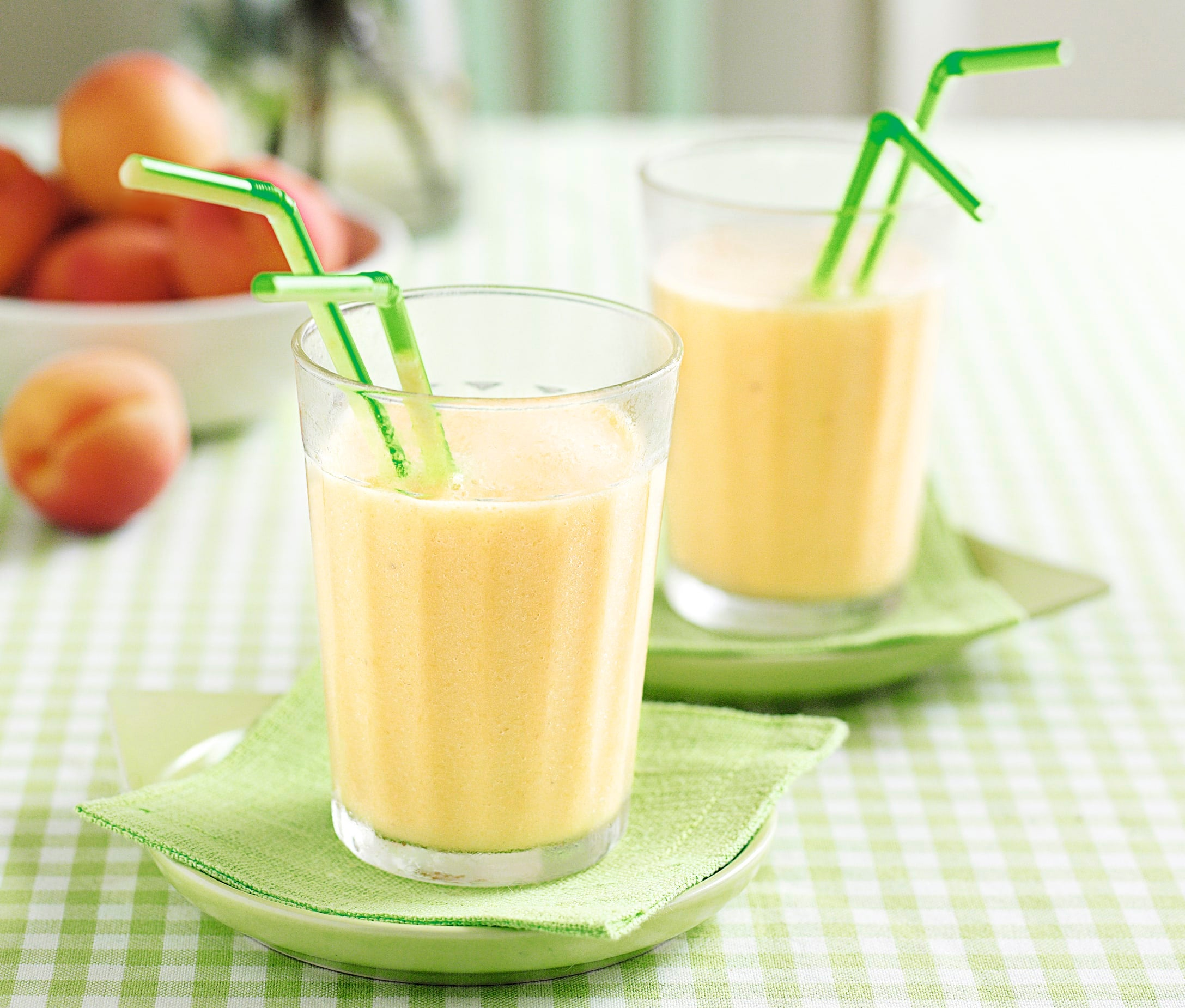 Photo of Apricot and soya milk smoothie by WW