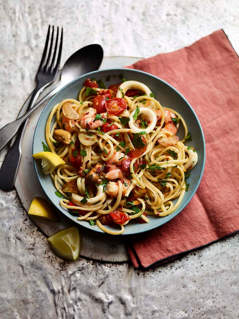 Photo of Seafood linguine by WW