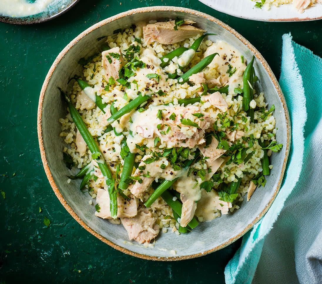 Photo of Tuna, green bean & bulgar wheat salad by WW