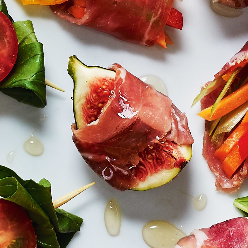 Photo of Figs wrapped in Parma ham by WW