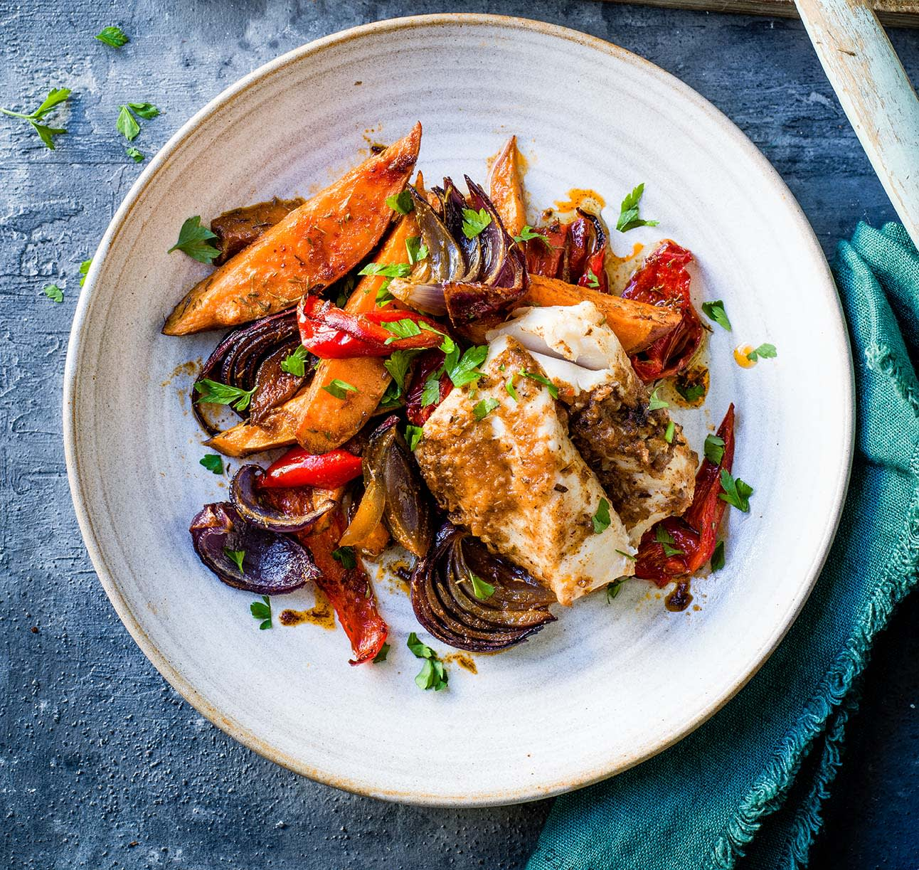 Photo of Baked piri piri cod by WW