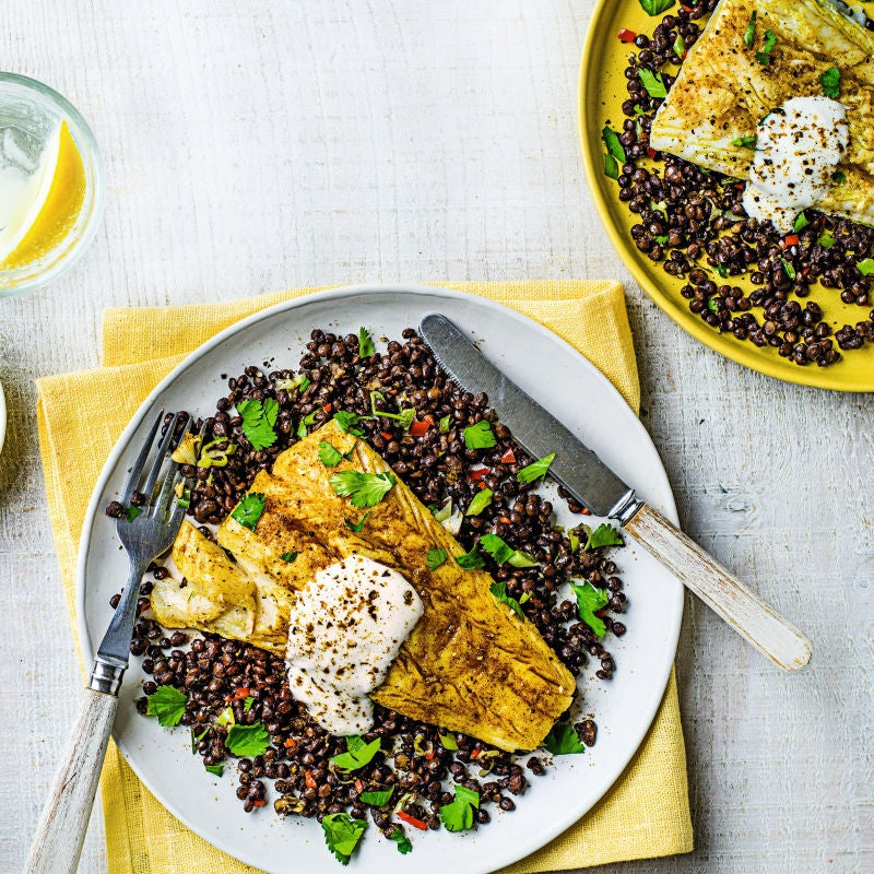 Photo of Spiced cod with Puy lentils by WW