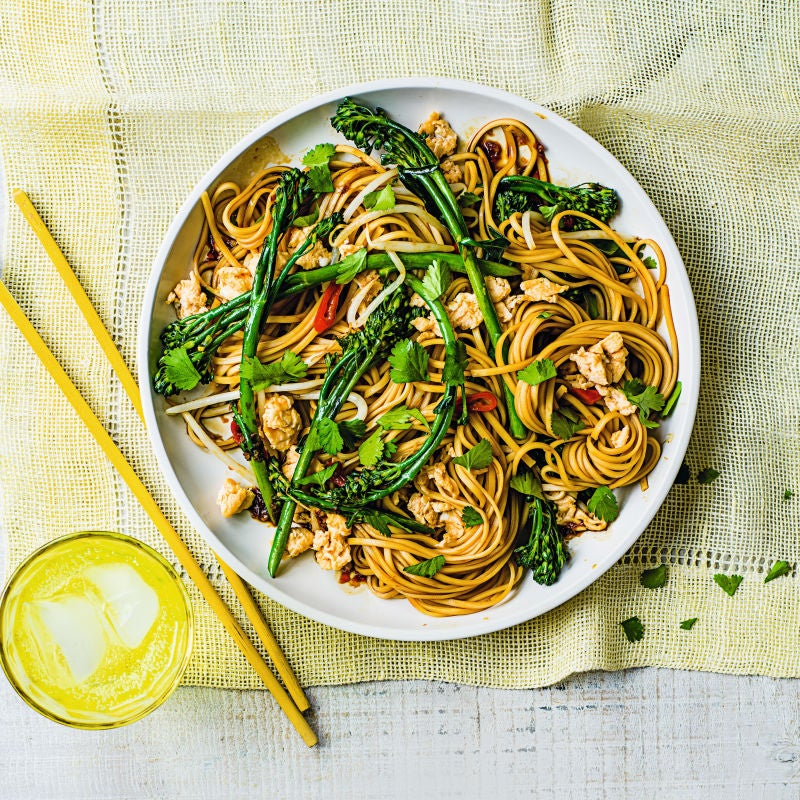 Photo of Egg & broccoli noodles by WW