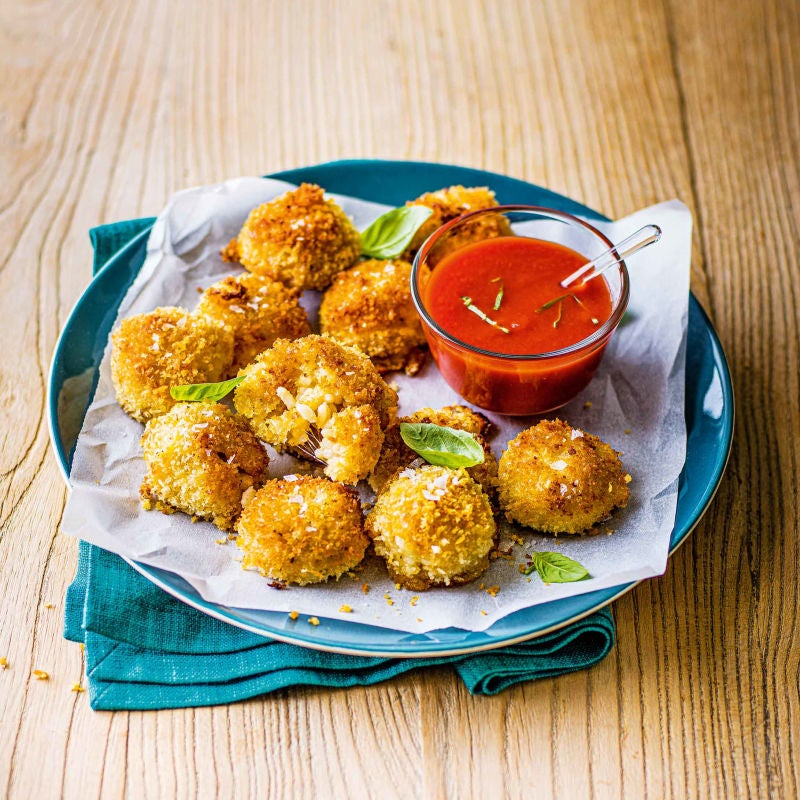 Photo of Baked arancini & tomato dip by WW