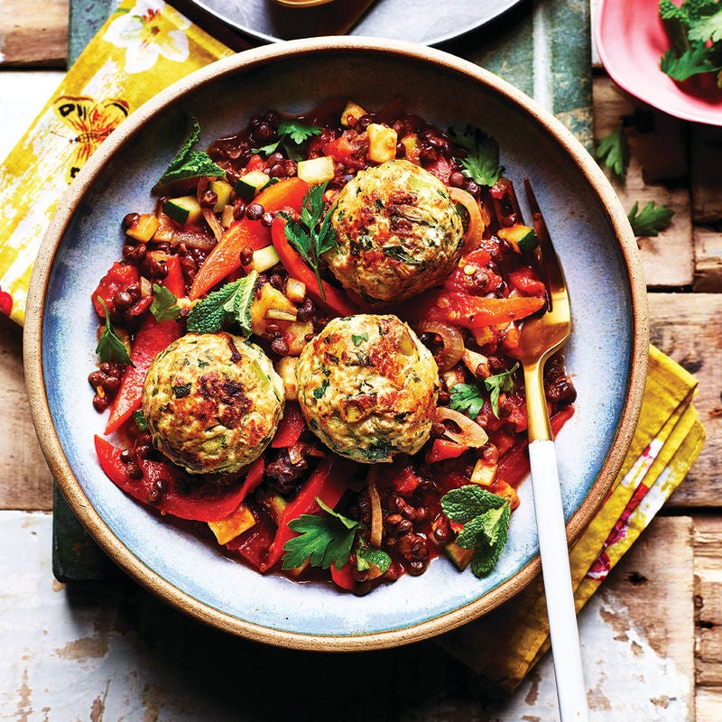 Photo of Turkey meatballs with vegetable ragout by WW