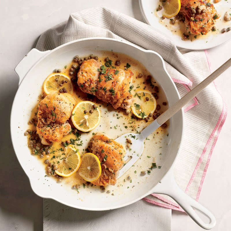 Photo of Sauteed chicken with lemon-caper sauce by WW