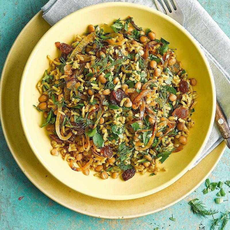Photo of Mejadra (green lentil rice) by WW