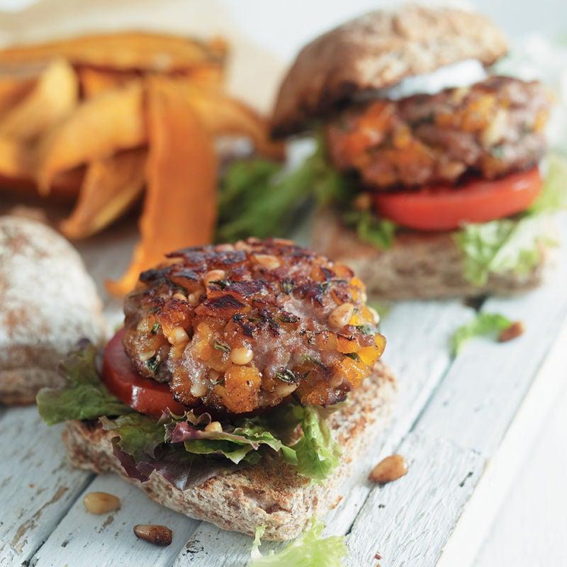 Photo of Pork & apricot burgers by WW