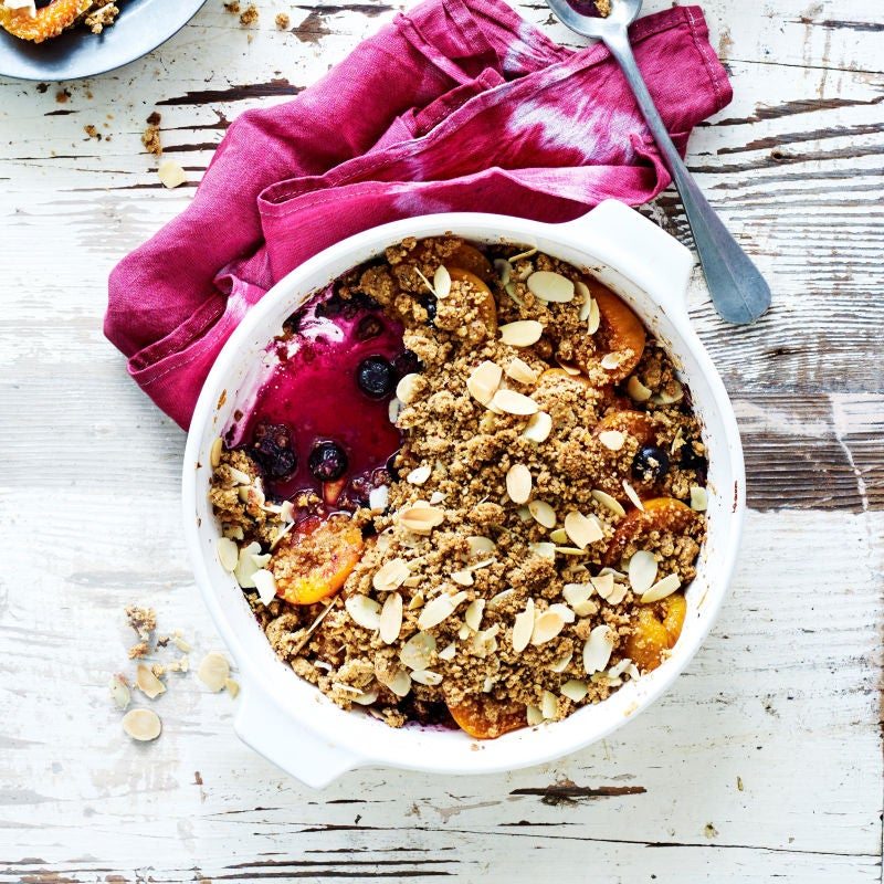 Photo of Apricot, blueberry & nut crumble by WW
