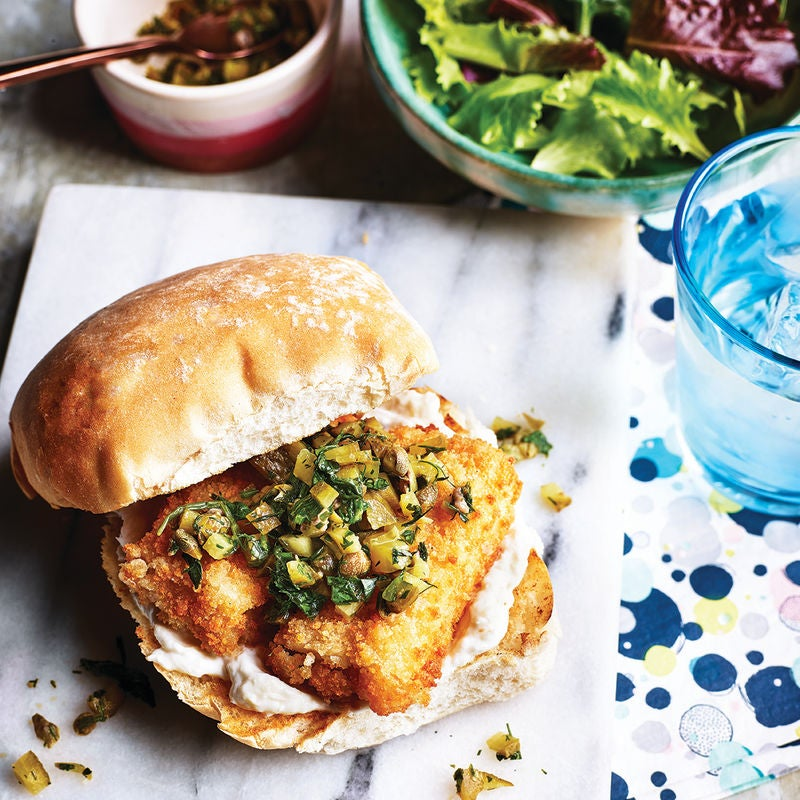 Photo of Scandi-style fish finger roll by WW