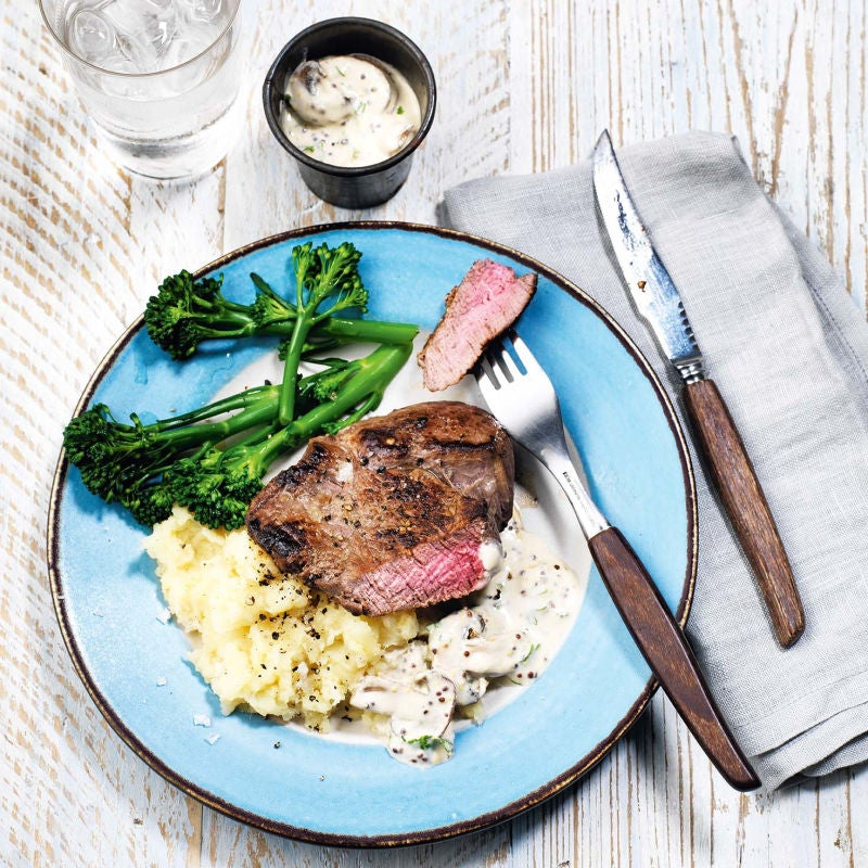 Photo of Rump steak with parsnip mash by WW