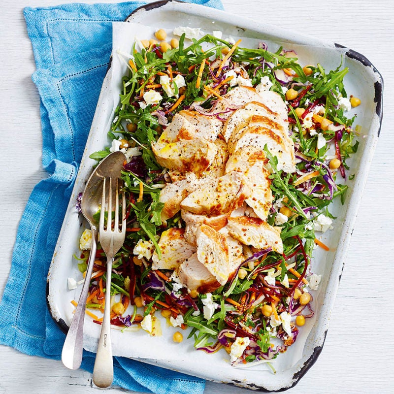 Photo of Chicken & chickpea slaw by WW