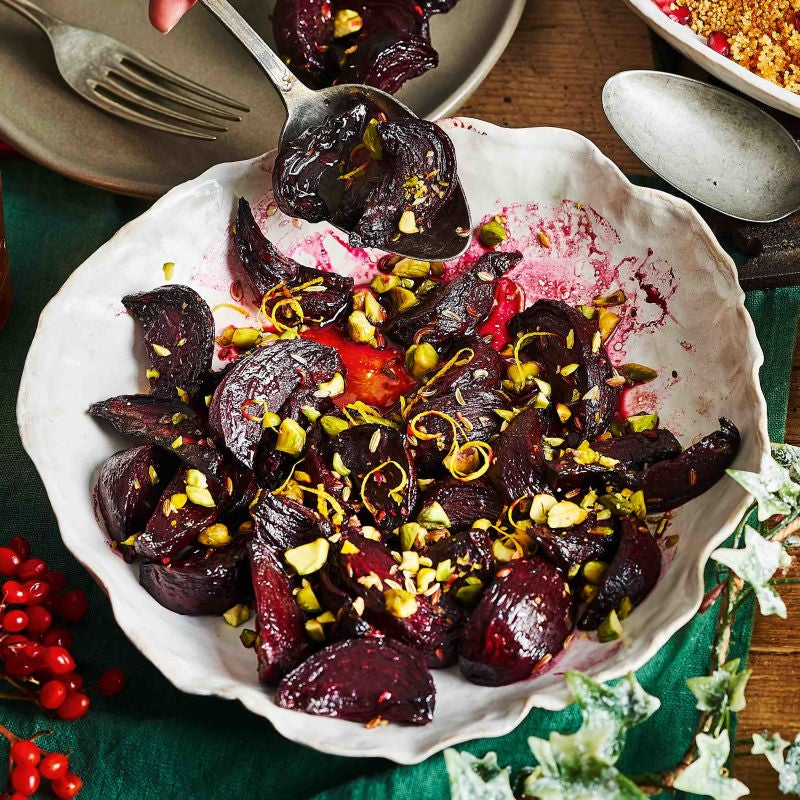 Photo of Fennel roasted beetroot with orange & pistachio by WW
