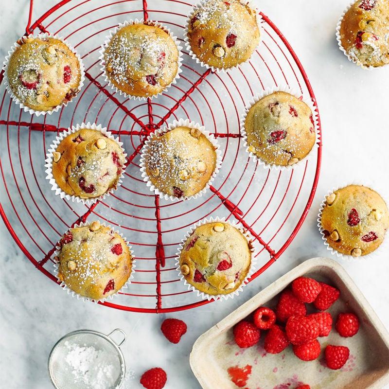 Photo of Raspberry & white chocolate muffins by WW