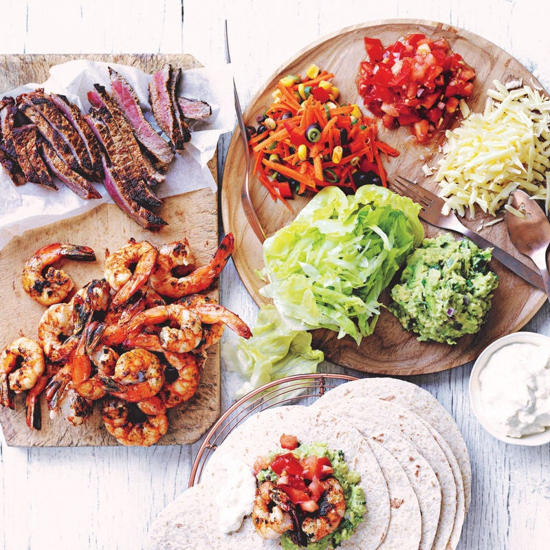 Photo of Mexican platter by WW