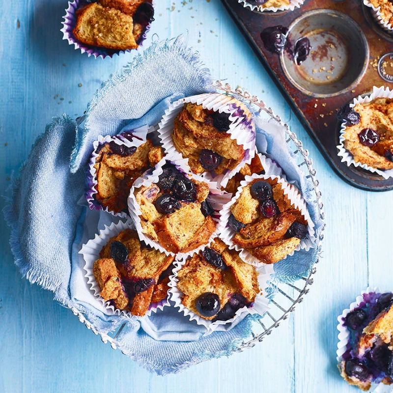 Photo of Blueberry French toast muffins by WW