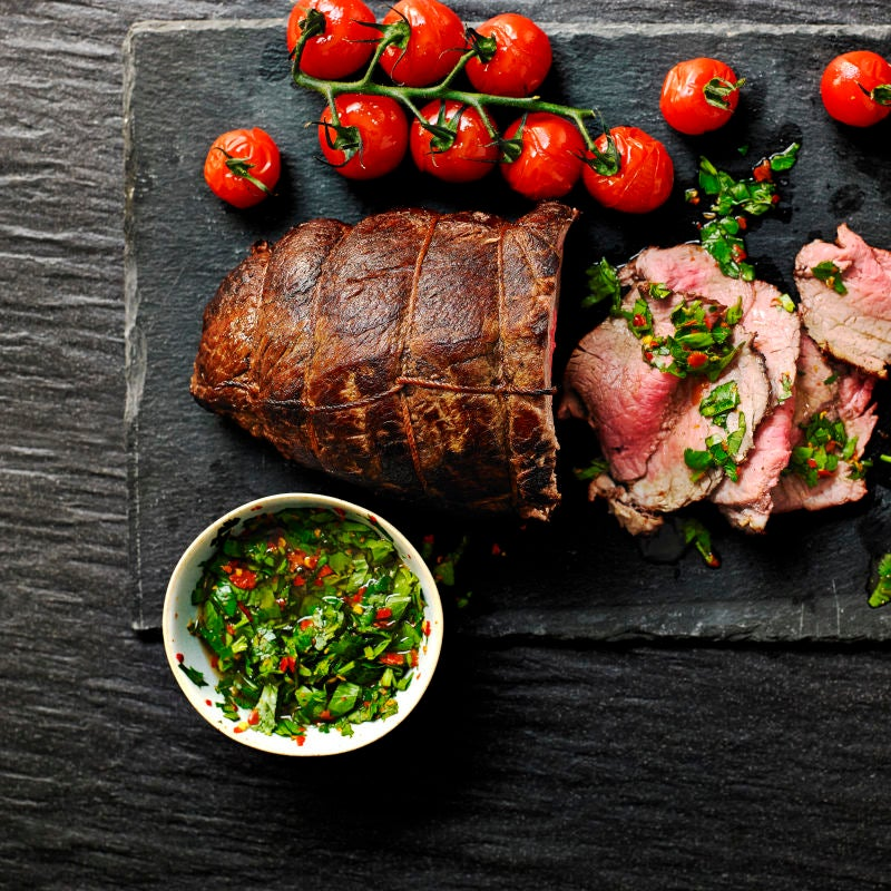 Photo of Beef fillet with chimichurri sauce by WW