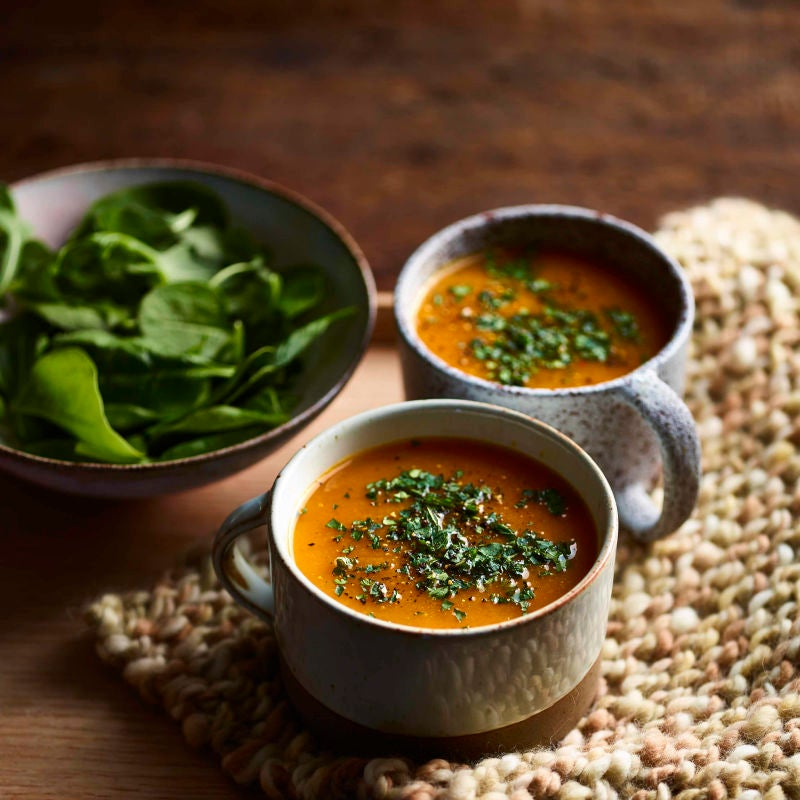 Photo of Spiced carrot & ginger soup by WW