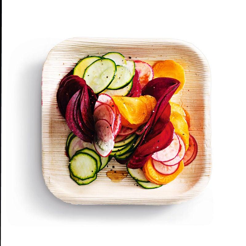 Photo of Raw rainbow vegetable salad by WW