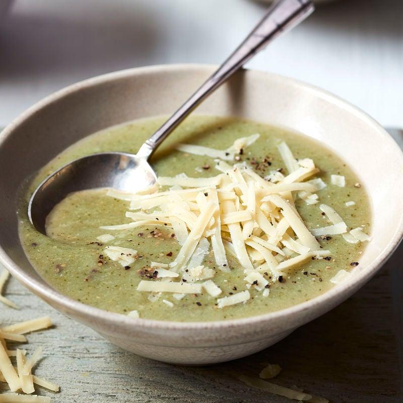 Photo of Broccoli & cheddar soup by WW
