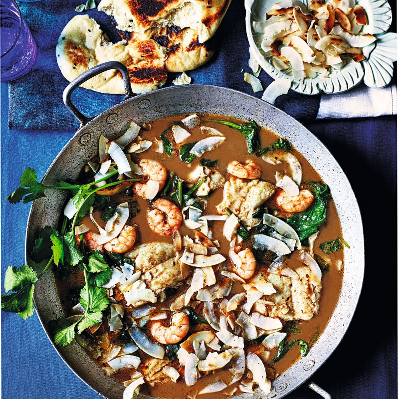 Photo of Seafood & coconut curry by WW
