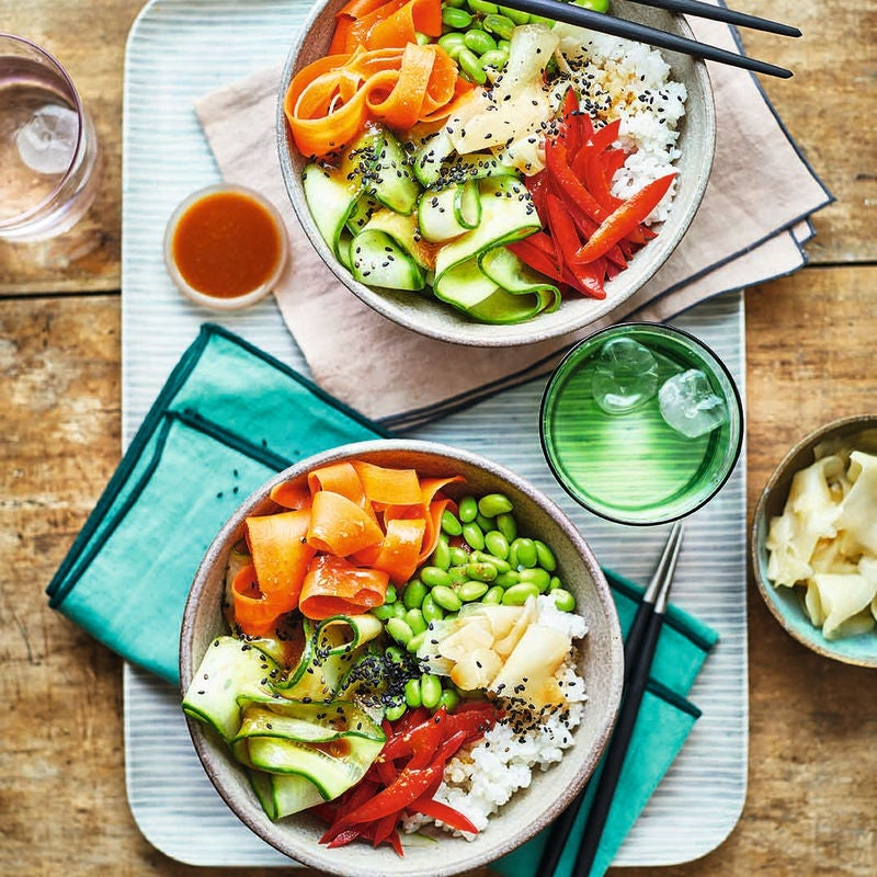 Photo of Veggie sushi bowl by WW