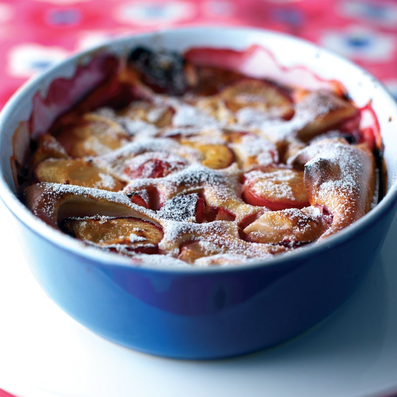Photo of Plum Amaretto pudding by WW