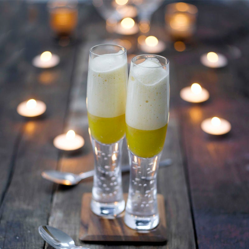 Photo of White wine & mango mousse by WW