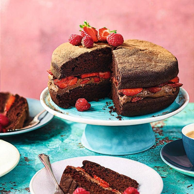 Photo of Chocolate celebration cake by WW