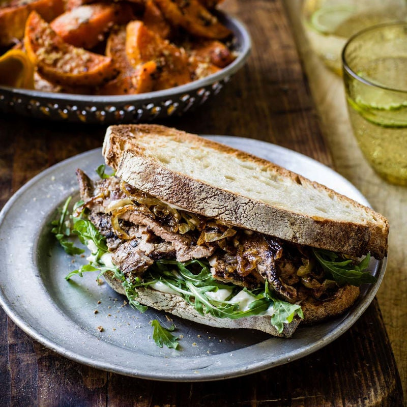 Photo of Steak & caramelised onion sandwiches by WW