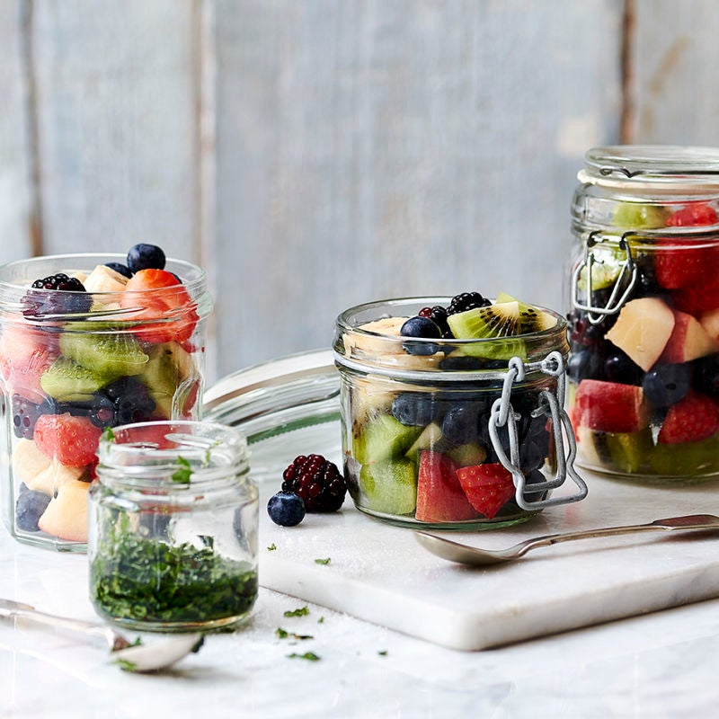 Photo of Fruit salad with mint & lime by WW
