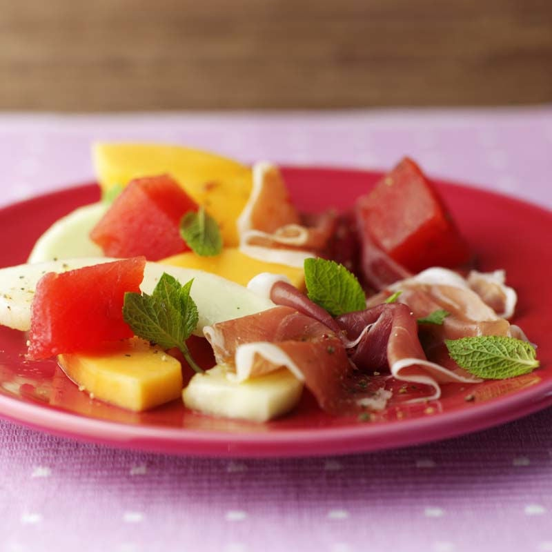 Photo of Parma and melon starter with honey and balsamic dressing by WW