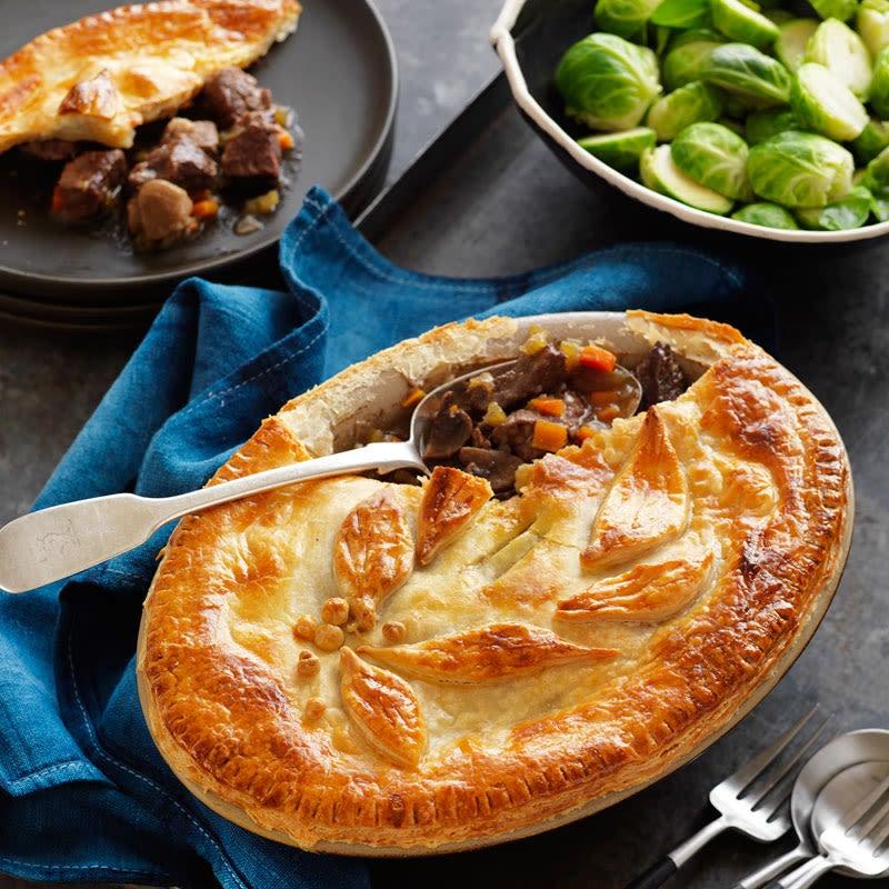 Steak & mushroom pie | Healthy Recipe | WW UK