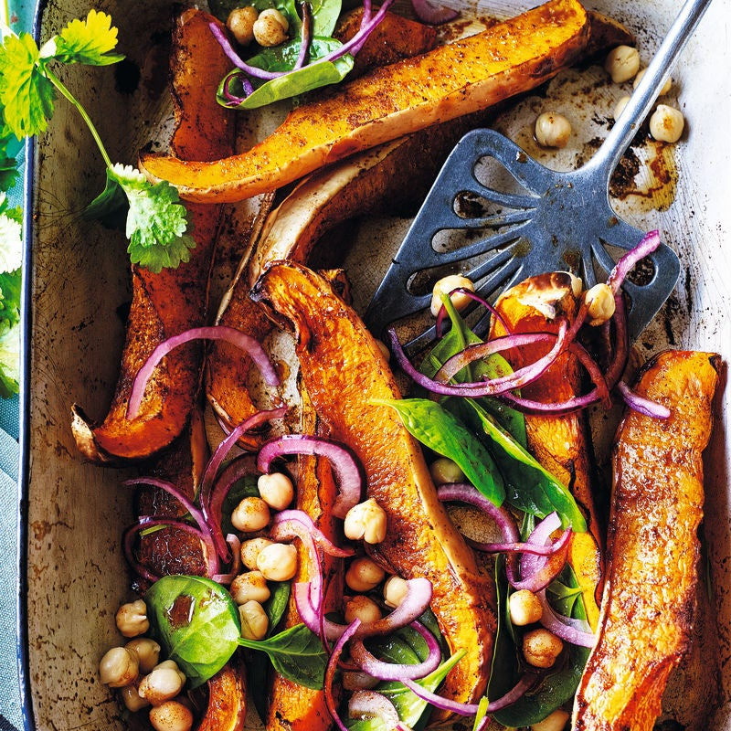 Photo of Warm squash, red onion & chickpea salad by WW