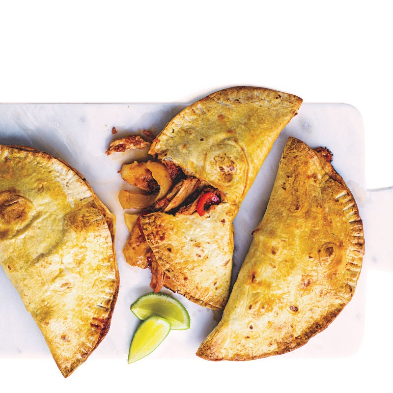 Photo of Spicy chicken & pepper calzone by WW