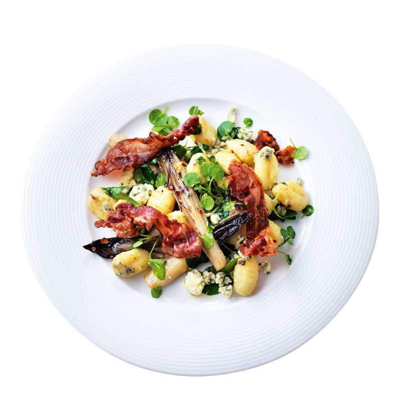 Photo of Gnocchi with pancetta & blue cheese by WW