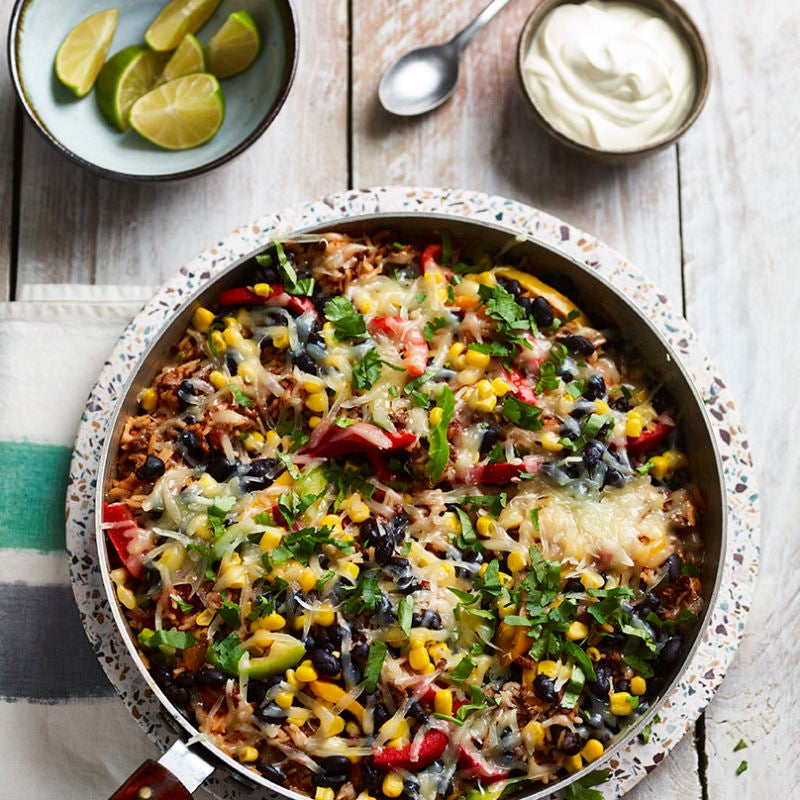 Photo of Mexican beef & rice casserole by WW