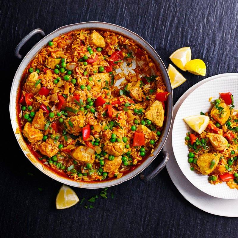 Photo of Paella with chicken by WW