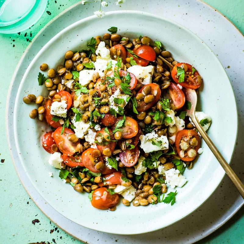 Photo of Lentil, feta & tomato salad by WW