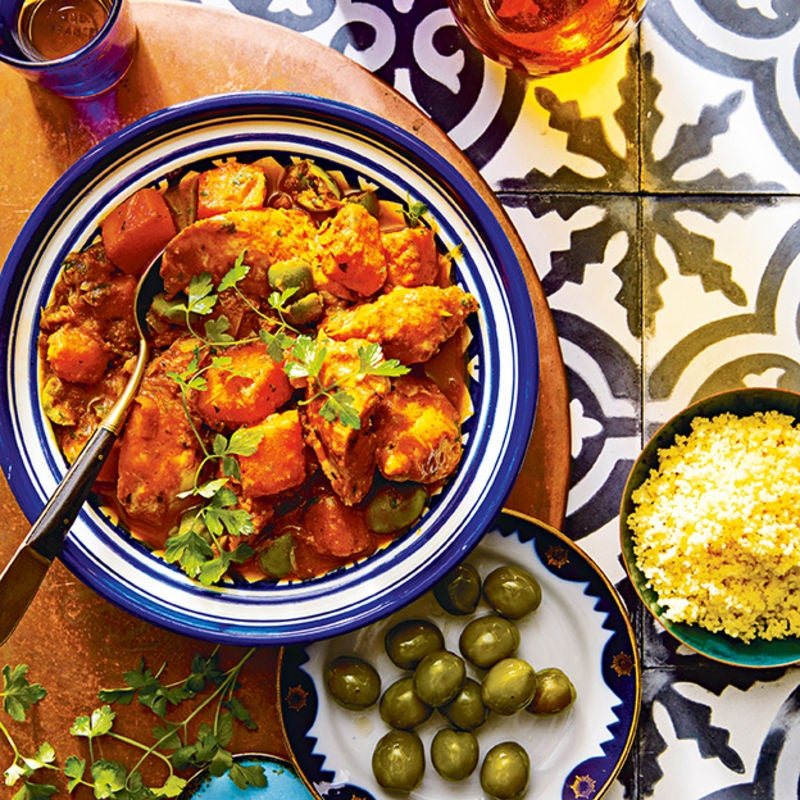 Photo of Chicken tagine with butternut squash, orange & onions by WW