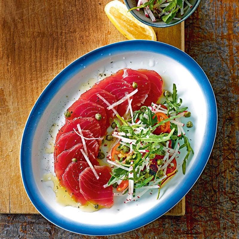 Photo of Tuna carpaccio by WW