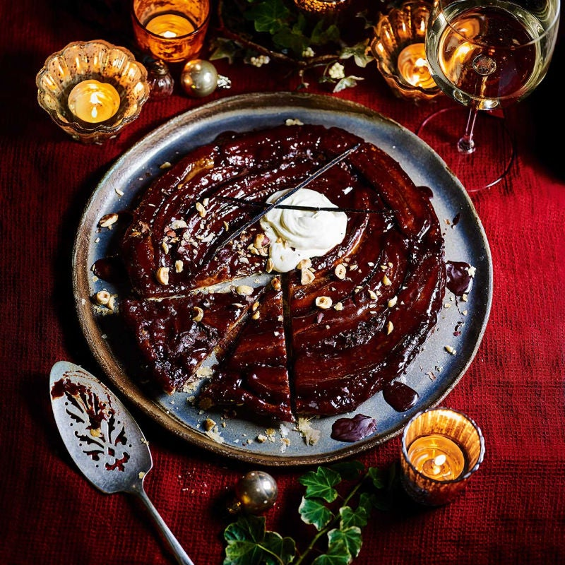 Photo of Chocolate & banana tarte tatin by WW