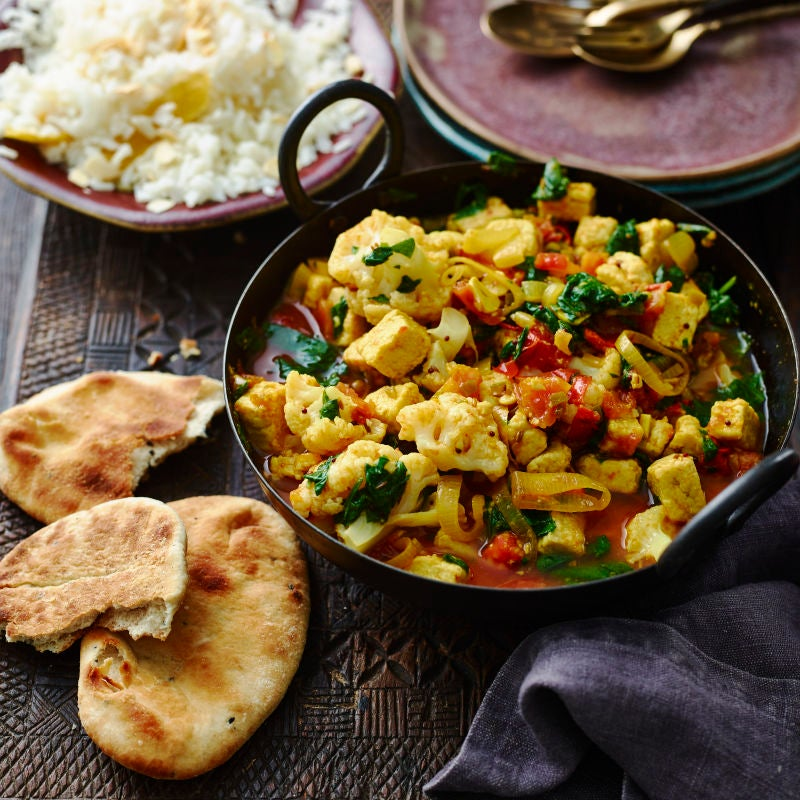Photo of Quorn™, cauliflower & spinach curry by WW