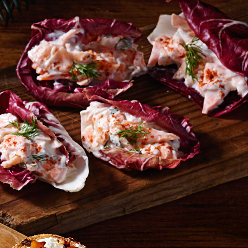 Photo of Smoked trout & cream cheese boats by WW