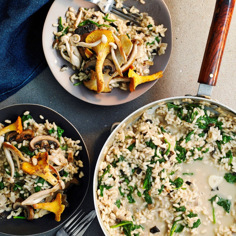 Photo of Wild mushroom & spinach risotto by WW