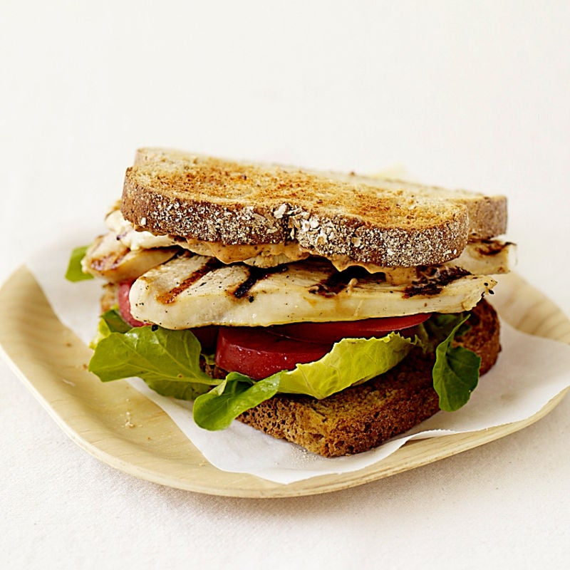 Photo of Toasted chicken sandwiches with chipotle mayonnaise​ by WW