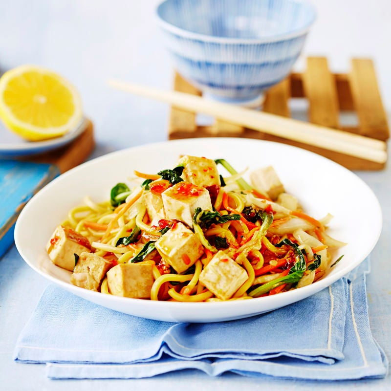 Photo of Tofu & sweet chilli noodles by WW