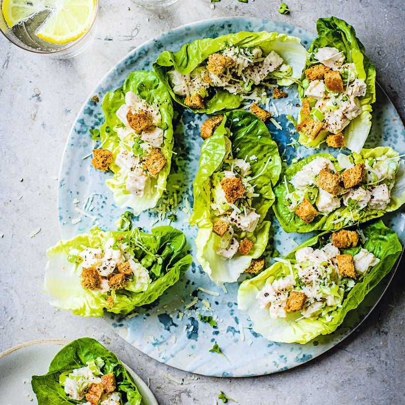 Photo of Caesar salad cups by WW